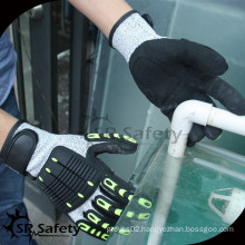 SRSAFETY great qulity anti-impact gloves in best price and quality