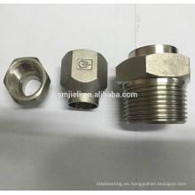 Acoplamiento de fundición de precisión de acero inoxidable 304