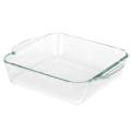 9 x 9 дюймов Экстра-большие квадратные стеклянные формы для выпечки/лоток/лоток