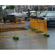 Cerca portátil municipal do PVC do Guardrail do fabricante