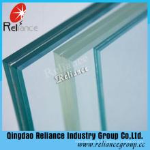 Verre stratifié de 6.76mm / verre de PVB / verre stratifié (clair, rouge, blanc, bleu, noir, bronze)