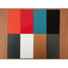 0.40mm * 1250mm PVDF Revêtement Turquoise Couleur