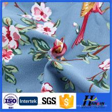 Tecido de lona de algodão estampado personalizado