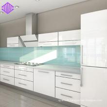 Conception d'armoires de cuisine en acrylique haute brillance