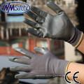 NMSAFETY nm luvas de segurança 13 gauge nylon luva de trabalho luva luvas de segurança por atacado nitrilo