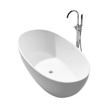 Chic Style Custom Design Artificial Stone Bathtub for Bathroom