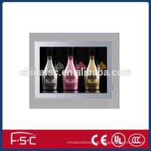 LED-magnetische Alu-Profil für Leuchtkasten mit schlanken Acrylplatte
