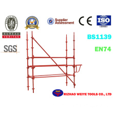 Painted Kwikstage System Scaffoldiing and Accessories