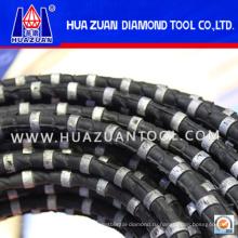 Huazuan Бренд веревочка Вырезывания провода Диаманта для гранита мрамора Вырезывания