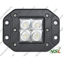 Luz de trabajo LED de 12V 24V, Luz de trabajo LED impermeable 16W, Luz de trabajo LED IP67 con CE, RoHS