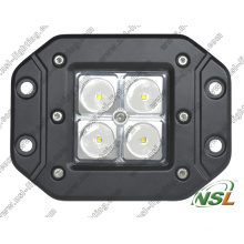 Lampe de travail à LED 12V 24V, Lampe de travail à LED étanche 16W, Lampe de travail à LED IP67 avec CE, RoHS