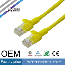 SIPU high quality quality warranty EXW high quality ETL UL cat6 patch cord