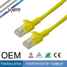 SIPU haute qualité qualité garantie EXW haute qualité ETL UL cat6 cordon
