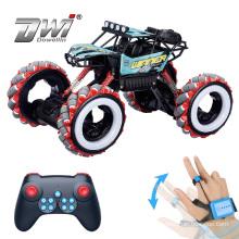 DWI Remote Control Stunt Gesture Sensing Car Watch with LED Light Drift Car
