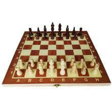 Échiquier jeu d'échecs ensemble enfant éducation jouets en bois jeu d'échecs