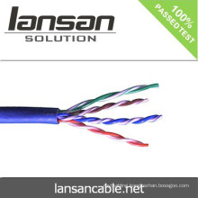 100% tested 24 awg UTP CAT 5e Cable/lan cable!!