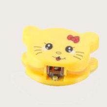 Grampeador de escritório bonito amarelo