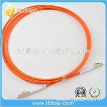 LC-LC MM Cordon de connexion à fibre optique Simplex (câble à fibre optique)