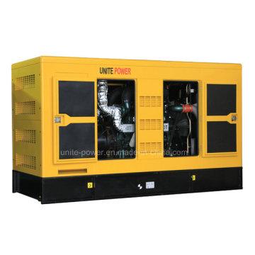 Sistema de generador diesel insonoro 90kw 112kVA accionado por el motor CUMMINS