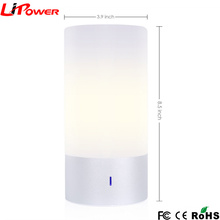 Touch Sensor Activates Auto-cycling Mode Smart LED Atmosphere Lamp Table Lamps with 256 stunning colors