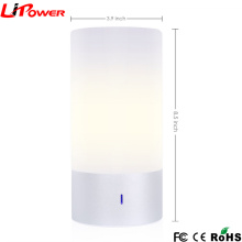 Sensor de toque ativa o modo de ciclagem automática Lâmpadas de mesa da lâmpada de atmosfera inteligente LED com 256 cores deslumbrantes