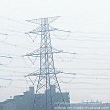 220kv Doubule Circuito Tensão Transmissão de Energia Steel Tower