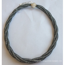 Best Seller Black Necklace with Gem