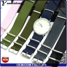 Sangle de Perlon YXL-033 Fashion New Style chaud vente montre bracelet Logo personnalisé OEM montre bracelet Watch Perlon bande de poignet