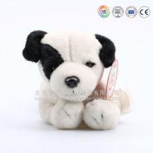 Mini stuffed dog, bulldog plush stuffed dog, realistic bulldog
