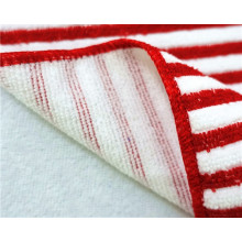 Microfiber Warp Stripe Towels for Kitchen Cleaning