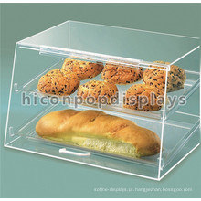 Free Design Food Shop Counter Top Clear Acrílico Bread Display Retail Bakery Cake Display Case