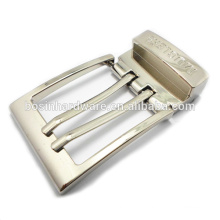 Fashion High Quality Metal Custom Name Double Prong Belt Buckle