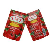 Pasta De Tomate Sachê Tmt, Vego, Processamento De Tomate Fino Tom De Marca