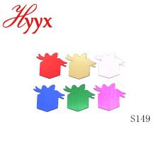 HYYX Nueva personalizada Diferentes tamaños de lentejuelas del partido