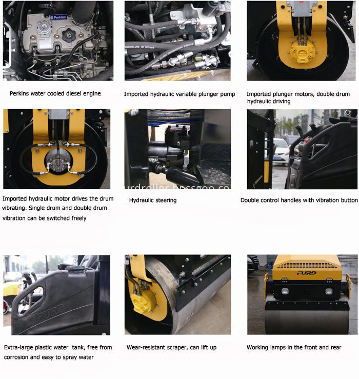 FYL-1200 Road Roller Compactor
