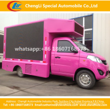 Mini LED Screen Video Billboard Truck