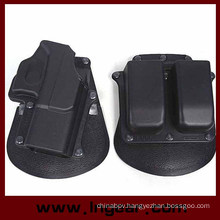 Tactical G17 Pistol Holster Military Airsoft Pistol Holster with Magazine Pouch