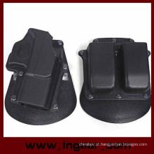 Tactical Gl2 coldre de pistola Glock 17/19 com bolsa de revista