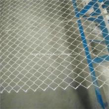 Cercado de eslabones de acero galvanizado