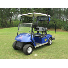 Best quality and factory for Small 2 Seaters Golf Carts 2 seaters petrol golf car with gas or battery power export to Nigeria Manufacturers