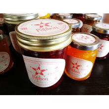 8oz Mason Jars Jam Jars Honey Jars with Gold/Silver Screw Lids