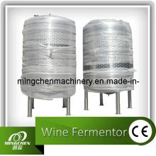 Fermentation du vin, cuve de fermentation du vin de raisin