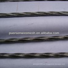 5.0-12mm retorcido acero bar material de construcción