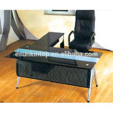 Mobilier de bureau en verre pour espaces ouverts, Mobilier de bureau de haute qualité! (P8062)