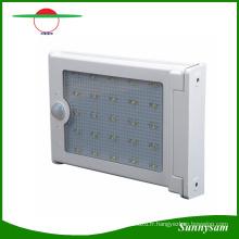 25 LED Sans Fil Solaire Puissance Corps Humain Motion Sensor Lampe Étanche Extérieure Jardin Chemin Maison Mur Lumière