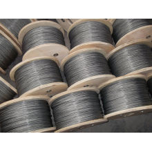 Aisi / Astm Galvanized Steel Astm Wire Rope , 1x7 And Heat-treated