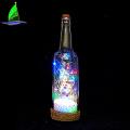 Decorative Glass Wine Bottle Light LED Christmas Lights