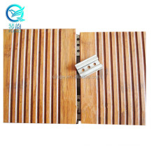 Qinge Factory Directly Wholesale Cheap Price Outdoor Bamboo Flooring Carbonized Bamboo Decking