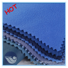 100% Polyester Tricot Brushed Knitting Fabric