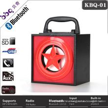 Car wooden audio speaker box mobile speaker